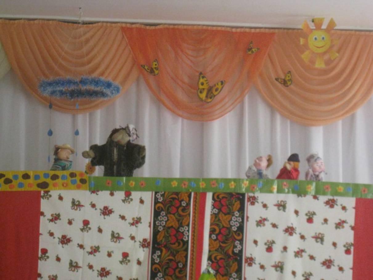 Сценарий для кукольного театра для дошкольников