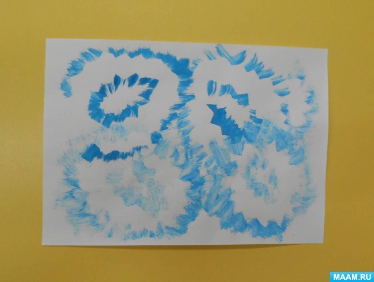Конспект занятия по рисованию подготовительная группа зимние узоры на стекле