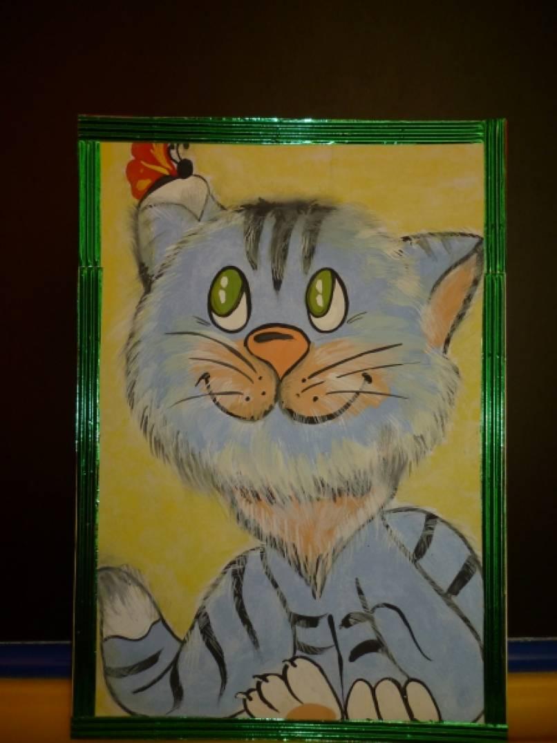 Фотоотчет городского конкурса поделок и рисунков на тему «Веселая котовасия»