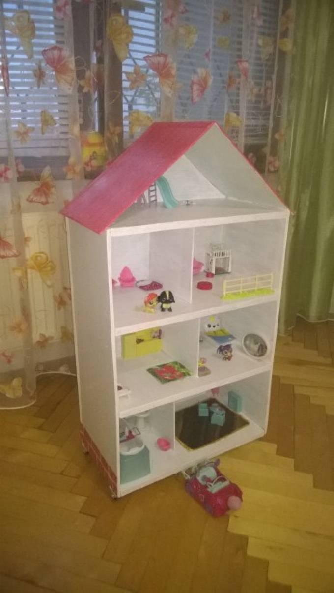 Как сделать домик для кукол Мастеркласс и фото