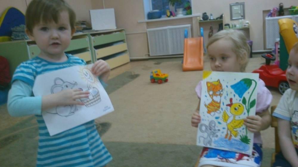 Конспект занятия для детей младшего дошкольного возраста «Водичка, водичка»