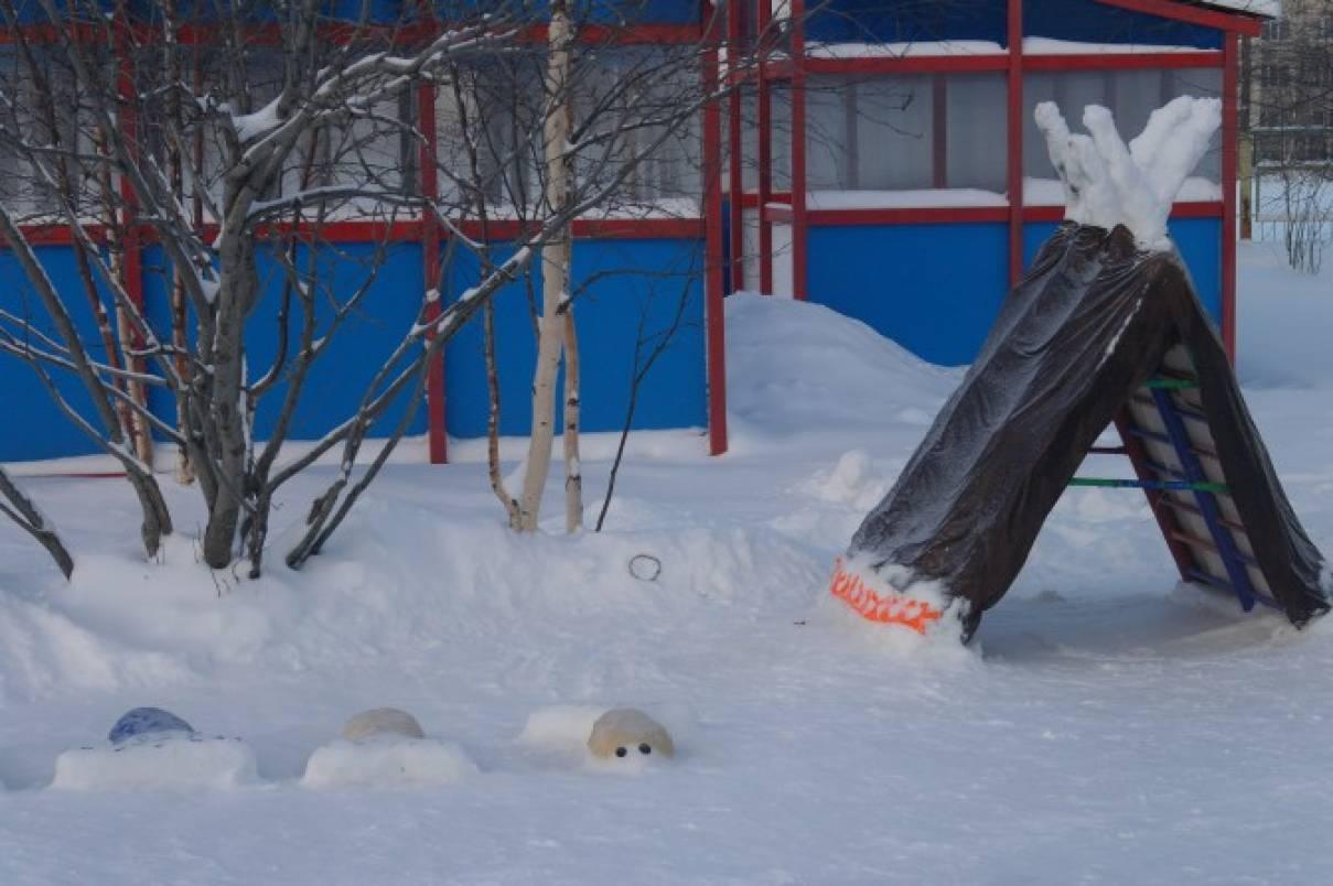 специальных моделей зимние участки в доу фото старинная