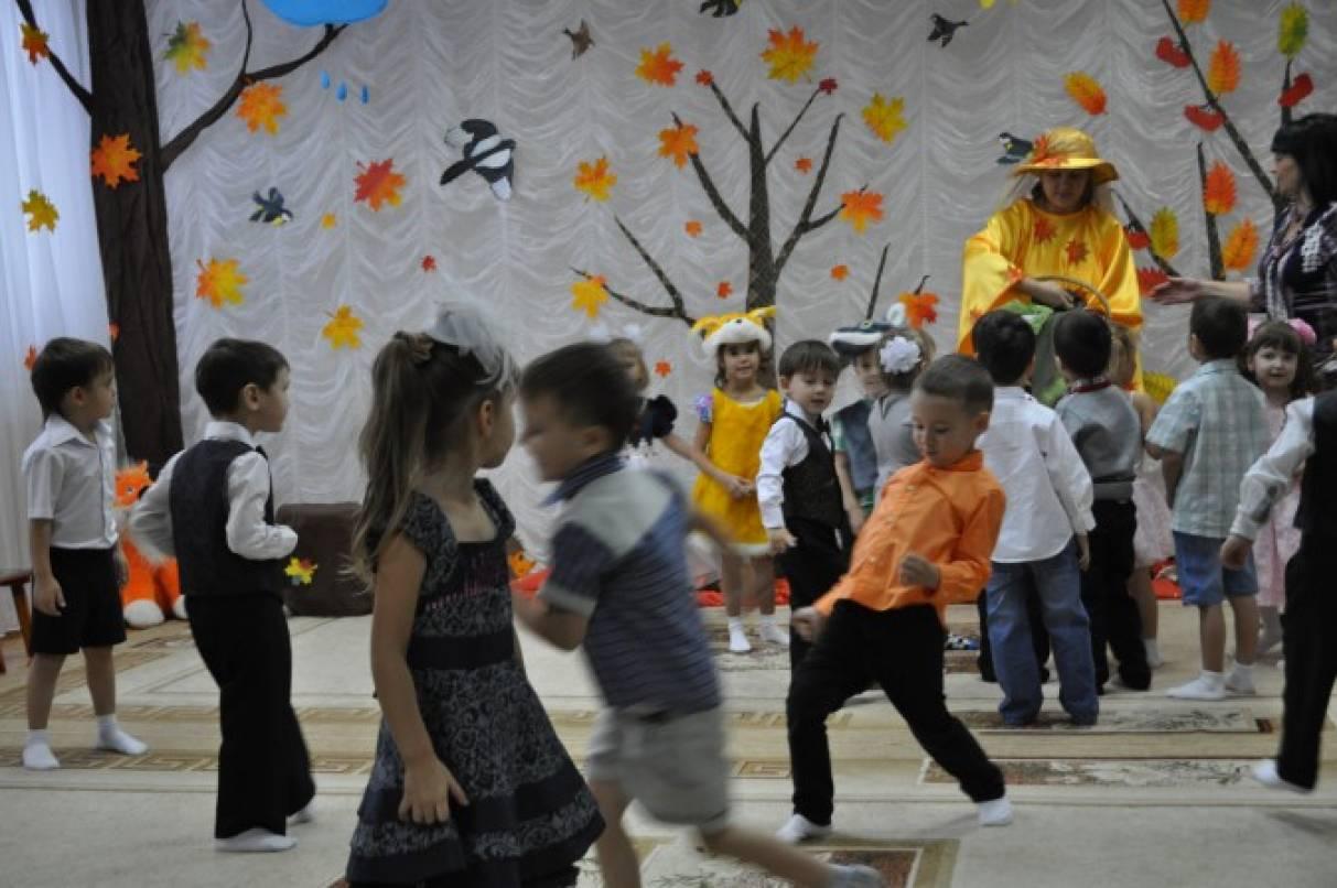 Осенний праздник сценки