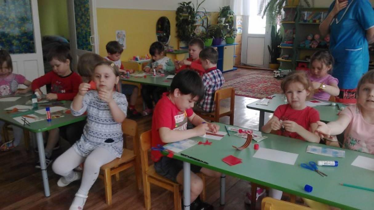 Небольшой фотоотчет о подготовке к празднованию праздника День Победы