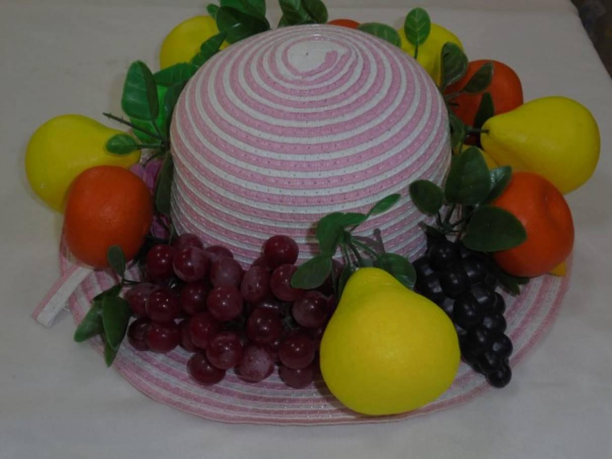 Шляпа фрукты своими руками 79