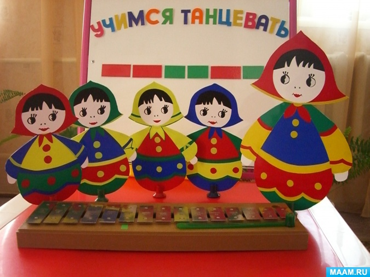 Музыкально-дидактическая игра «Учимся танцевать» (для детей старшего дошкольного возраста)
