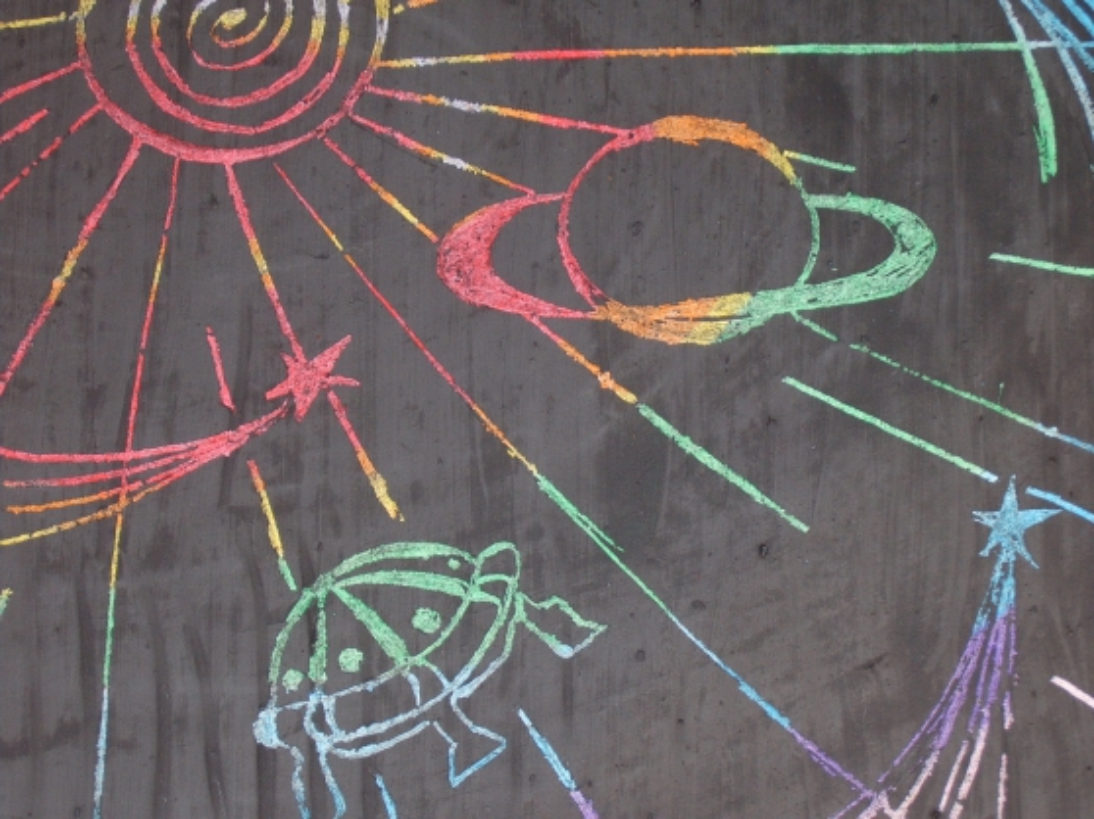 Детский рисунок сатурна