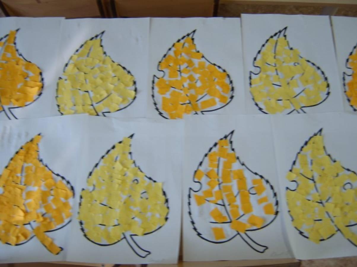 Аппликация открытка осень в старшей группе, картинками февраля