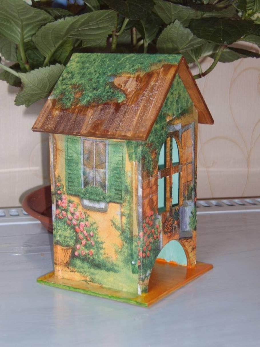 Чайный домик пошаговая фото