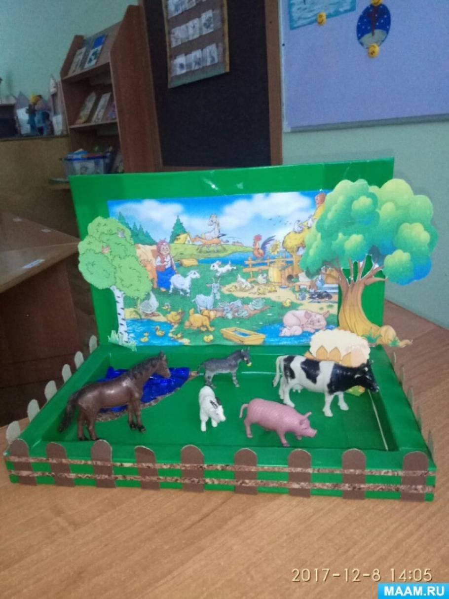 Роль макетов в экологическом воспитании дошкольников. Макеты «Дикие животные» и «Домашние животные»