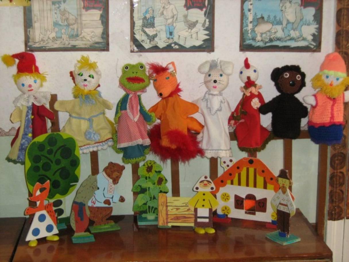 Реферат кукольный театр в детском саду 7358