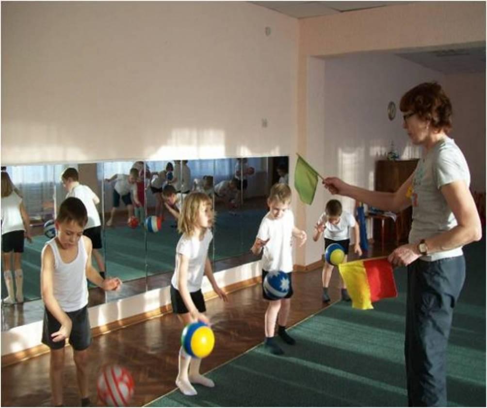 Конспект подвижные игры детском саду
