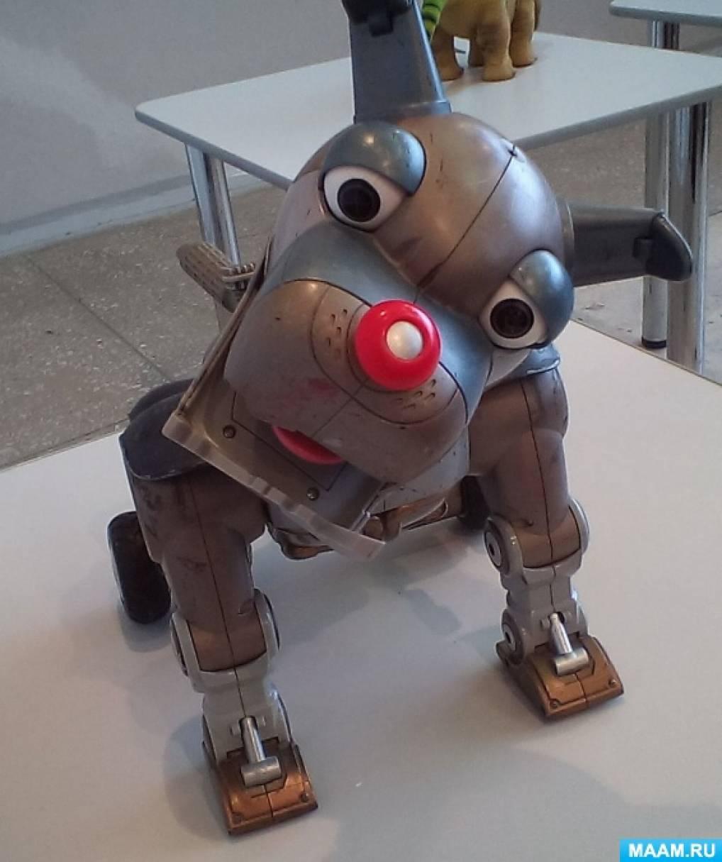 Поделка в школу робот 23