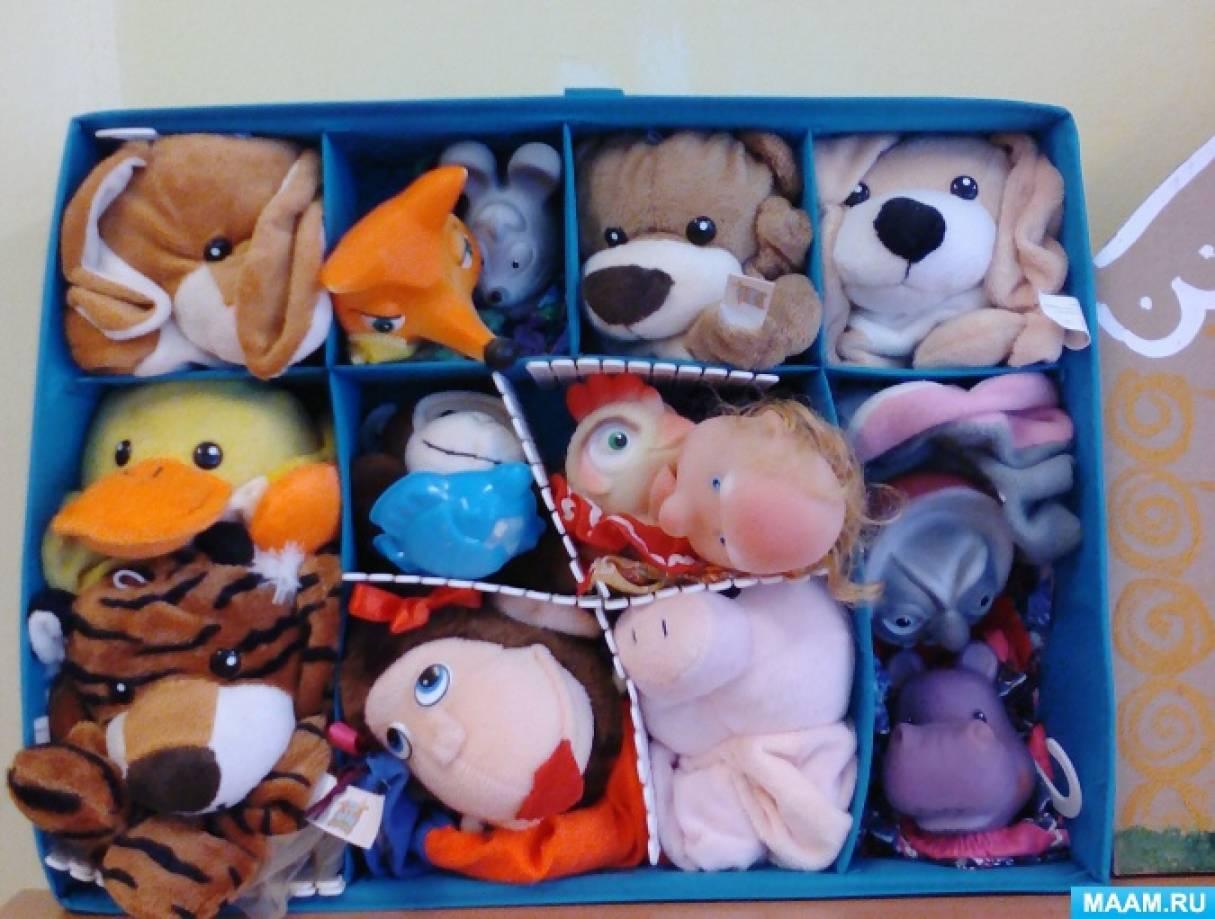 Проект по куклотерапии «Куклы и мы»