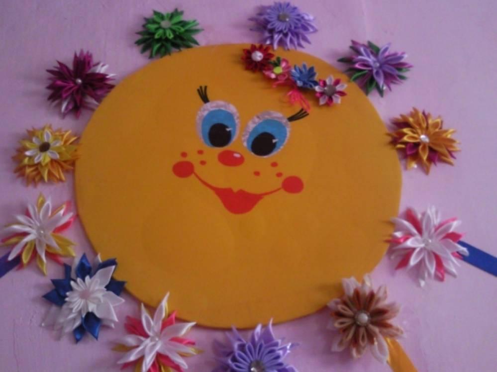Моё хобби «Вязание и цветы канзаши»