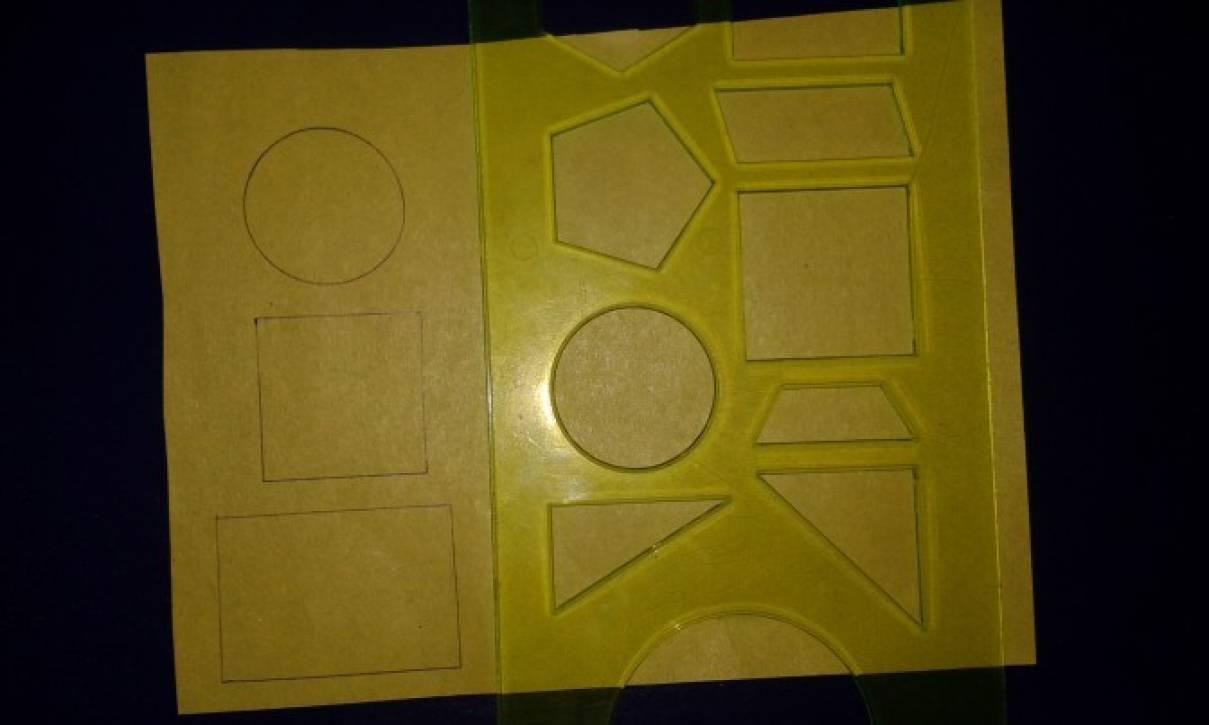 Изготовление дидактической игры «Домик для фигурки»