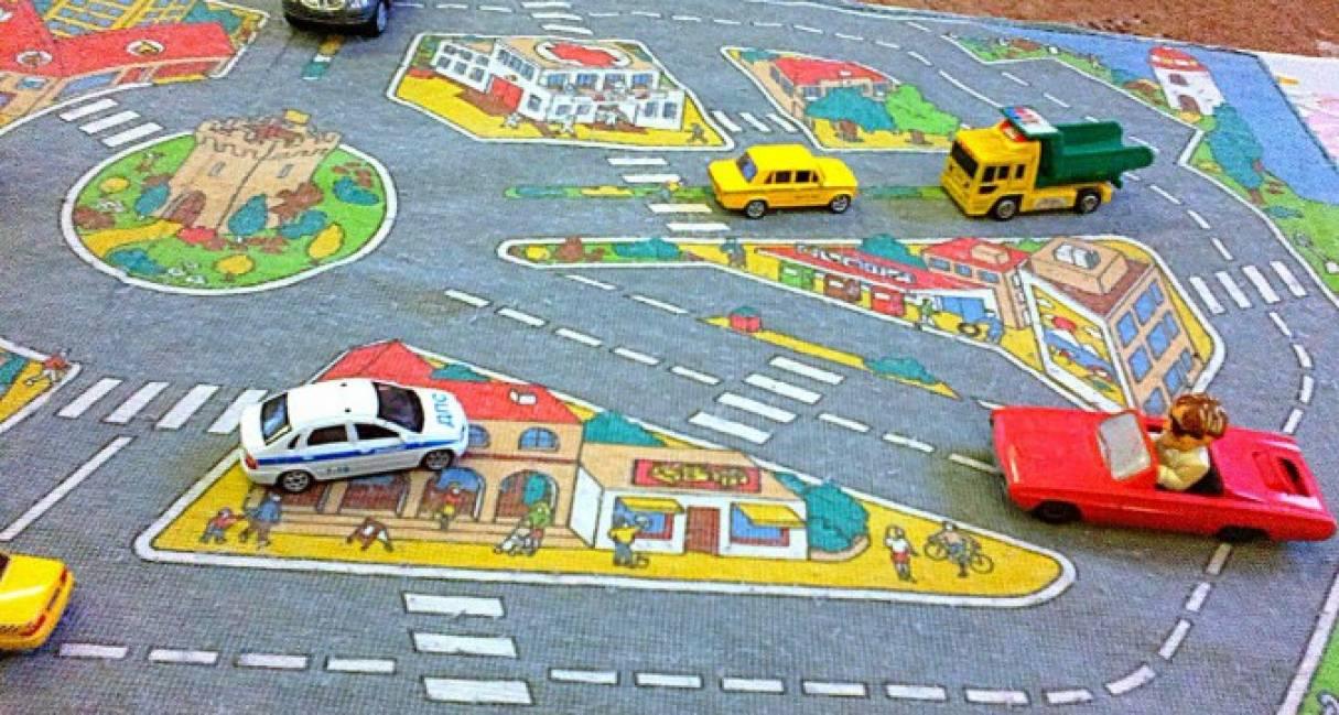 Проведение сюжетно-ролевой игры «Дорога» для закрепления правил дорожного движения (ПДД)