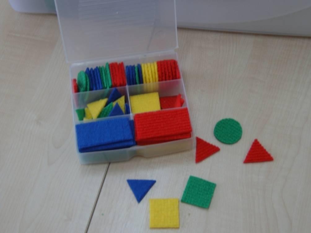 Пенал с геометрическими фигурами своими руками