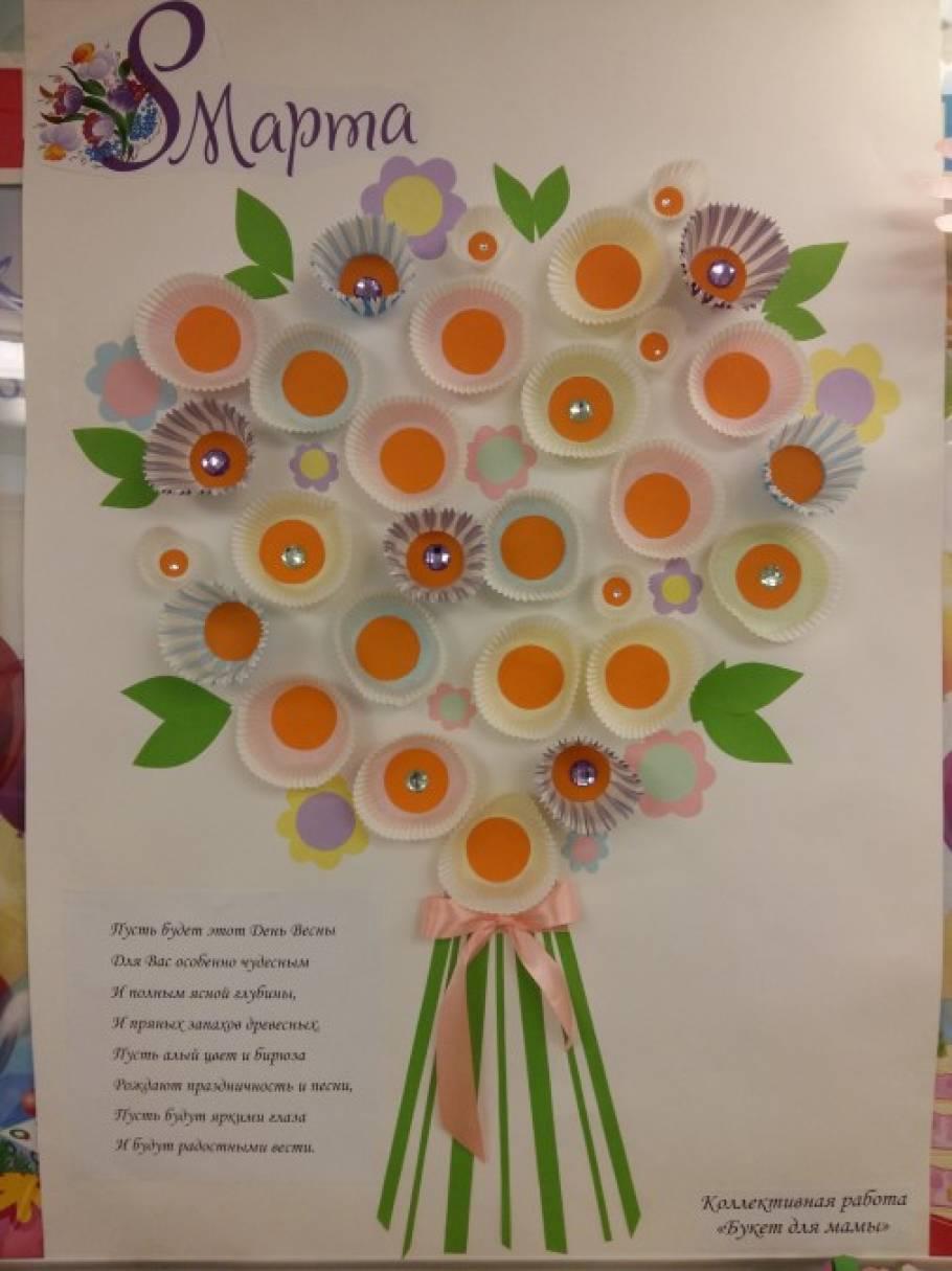 коллективная поздравительная открытка к дню матери уже говорилось