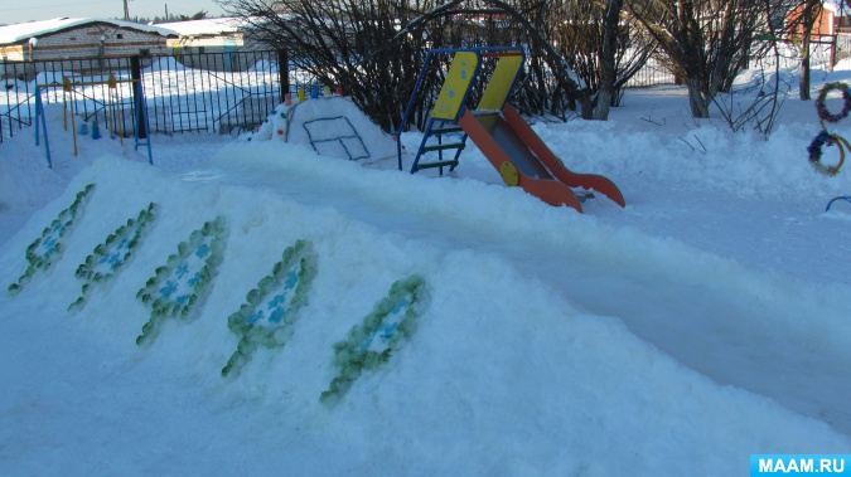 Оформление участка зимой своими руками фото 31