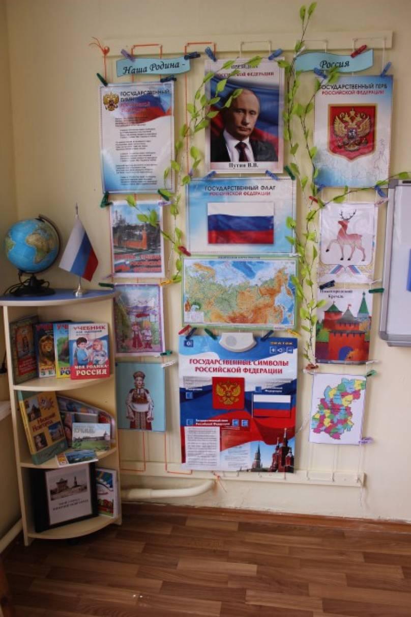 Оформление уголка россии в доу своими руками 11