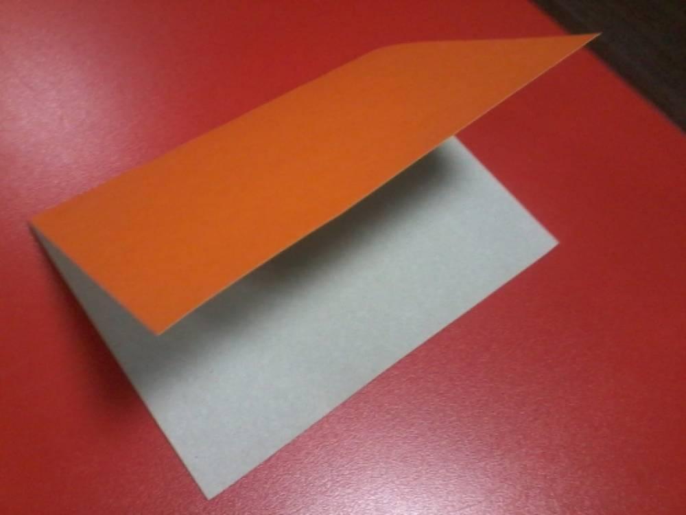 сгибаем картон для открытки редких