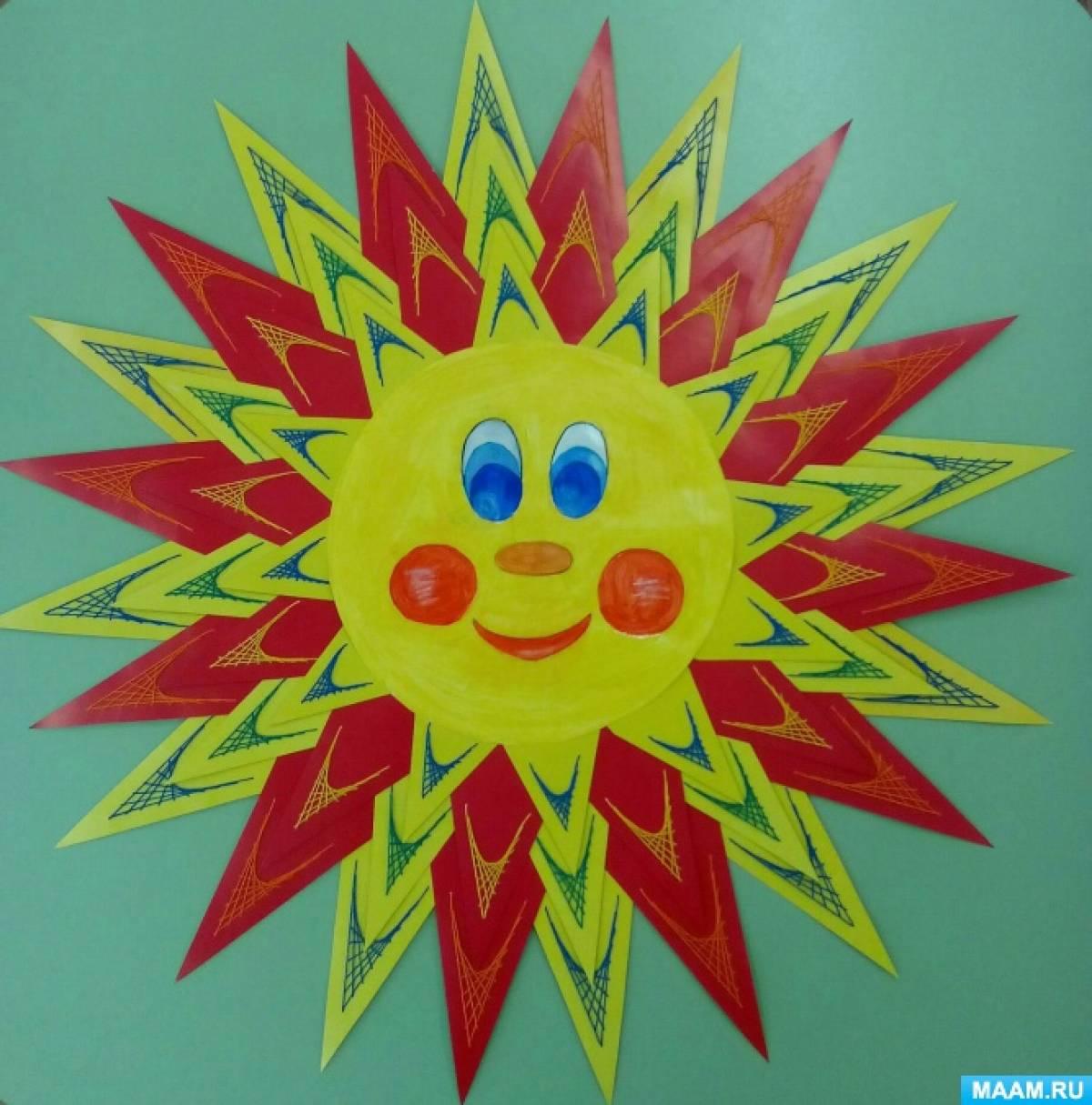 Мастер-класс «Солнечная масленица» (с применением техники «изонить»)