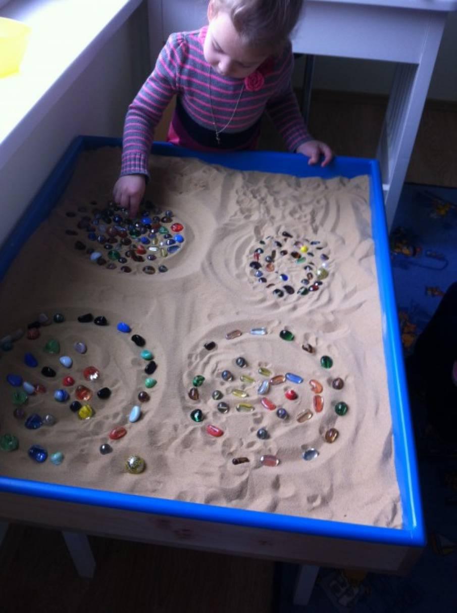 гибридный упражнения с песком в картинках приведены