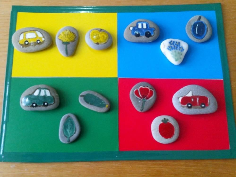 Дидактическая игра «Веселые камешки» для старших дошкольников