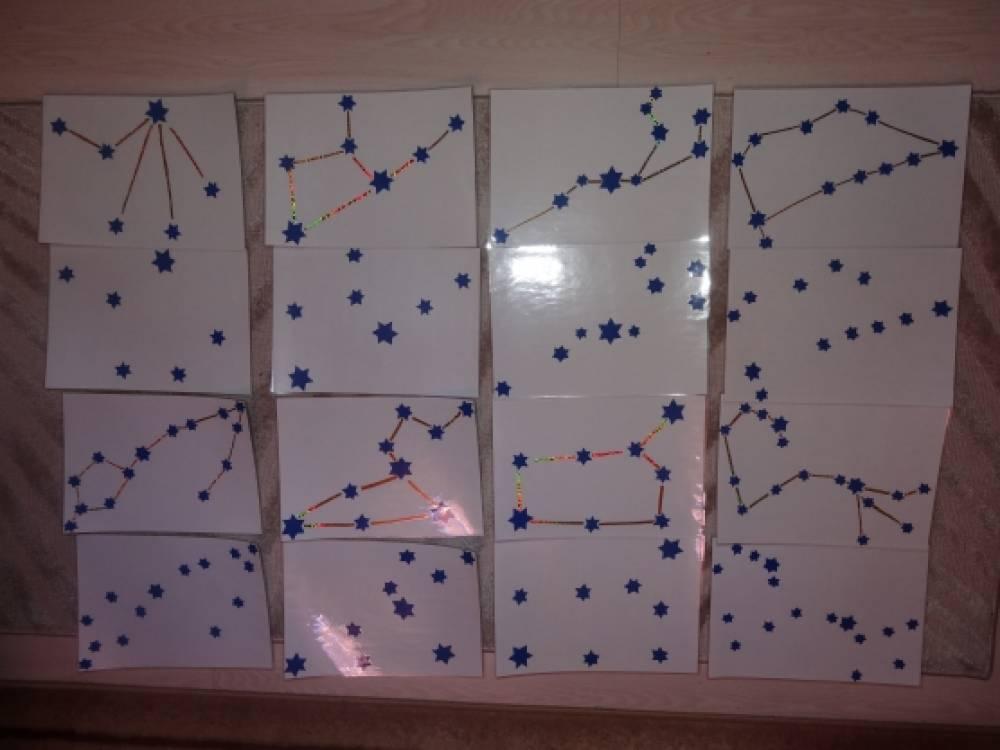 Схема созвездий детям