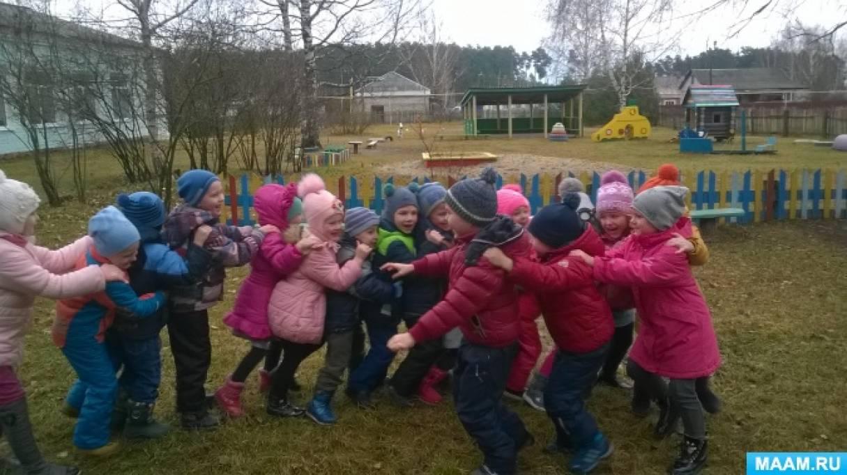 Фотоотчет об участии в проекте по возрождению культуры детской подвижной игры