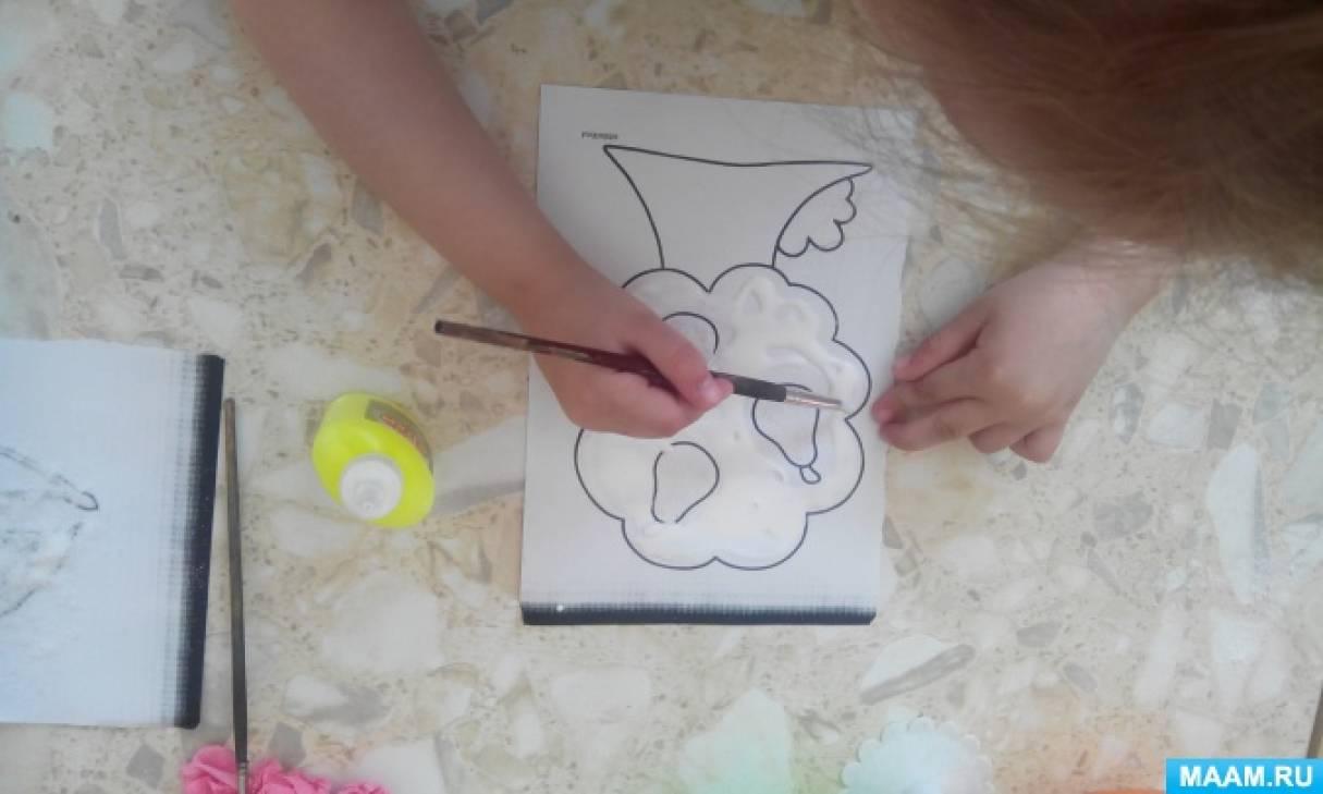Мастер-класс по рисованию солью для детей дошкольного возраста