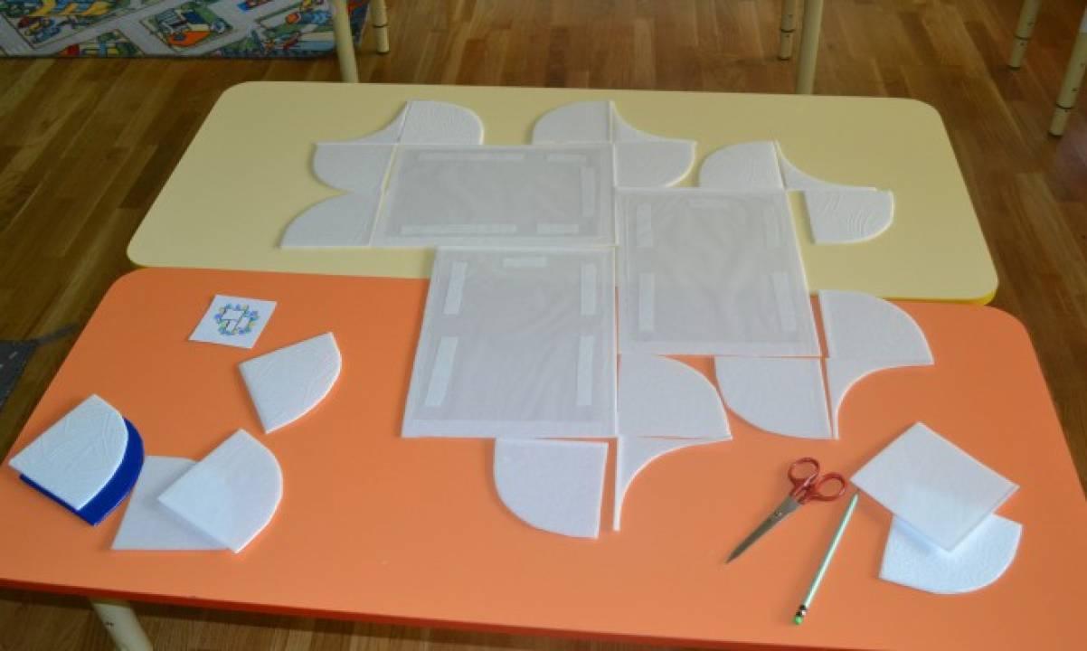 Сделать стенд своими руками детский сад
