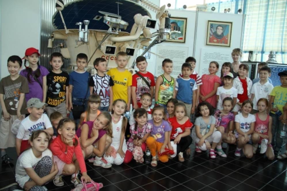 Поездка 4 «а» в Артек. Экскурсия в Музей космонавтики им. Юрия Гагарина