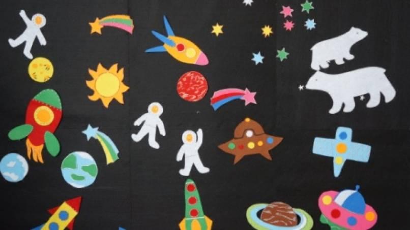 знакомство детей 6 7 лет с космосом планетами