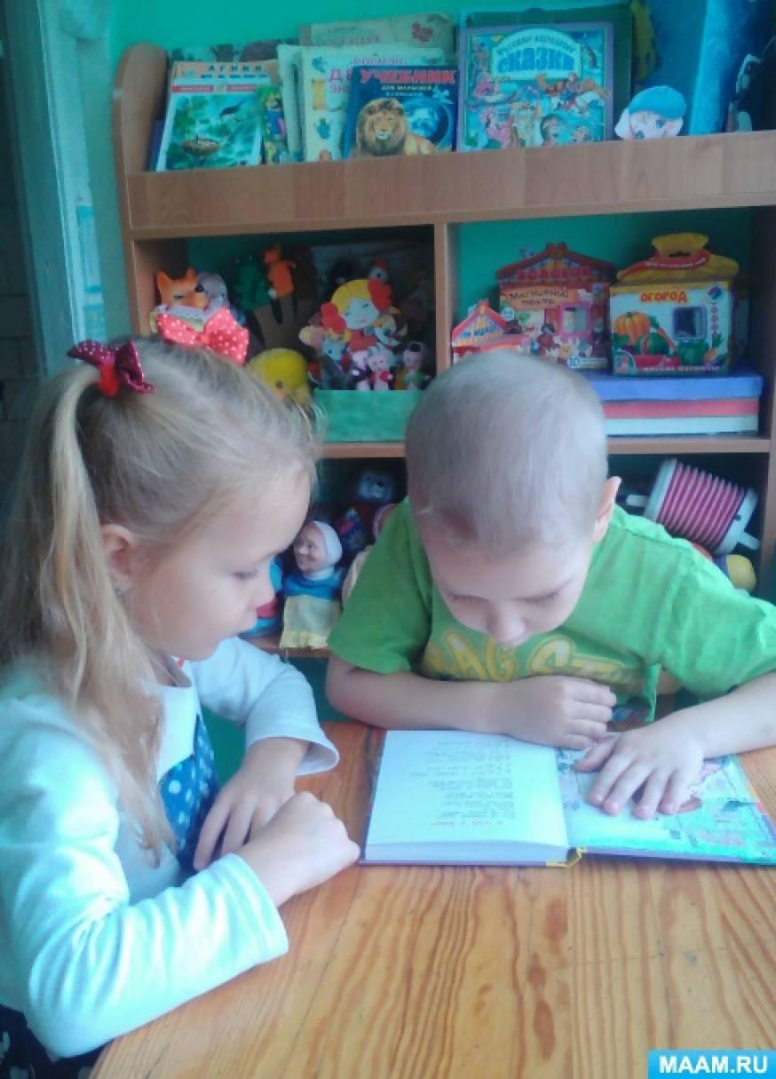 Долгосрочный творческий проект для детей старшего возраста «Друзья книги»