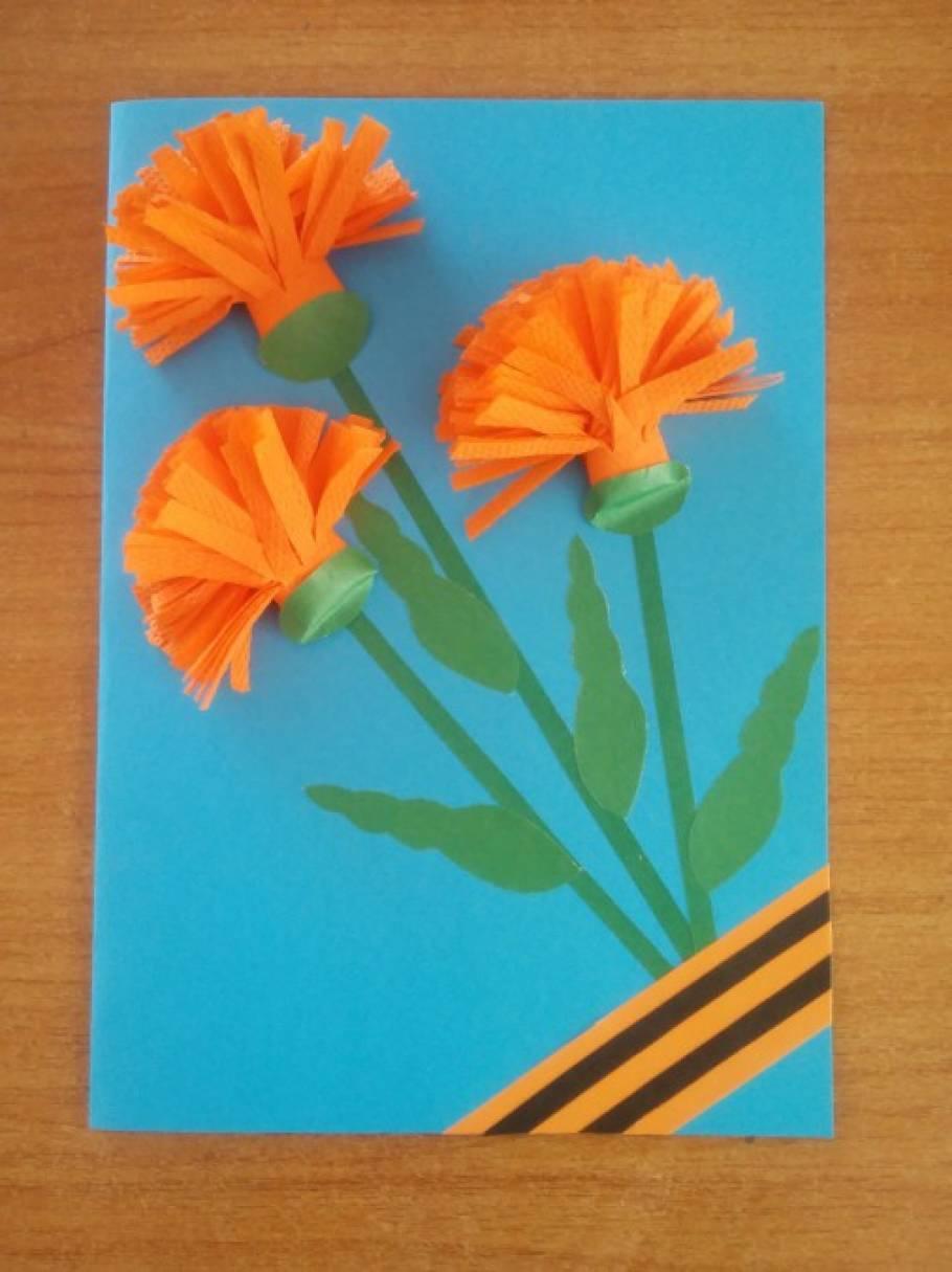 Открытка оригами к дню победы, открытки
