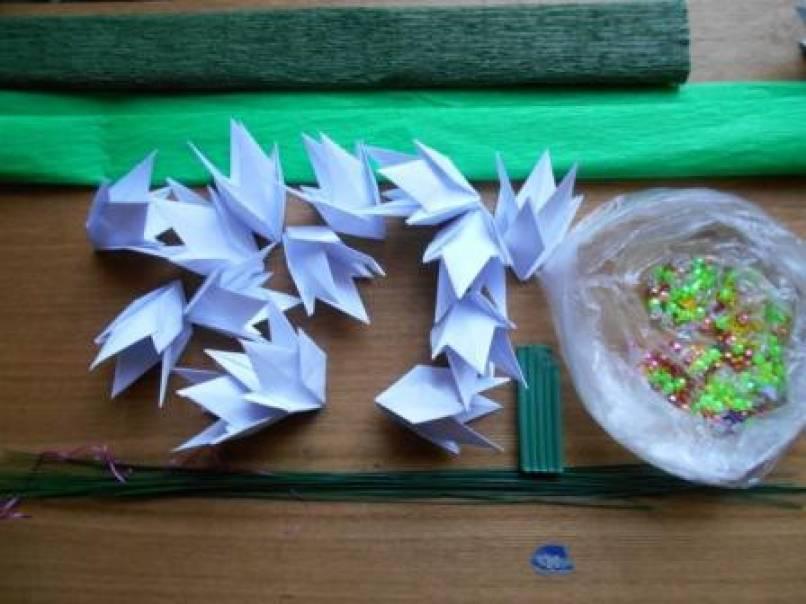 Подснежник в технике оригами. Мастер-класс. Воспитателям детских садов, школьным учителям и педагогам - Маам.ру