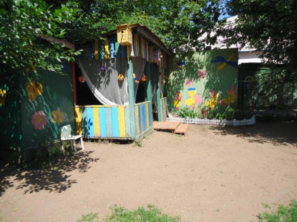 Оформление детских площадок своими руками фото 12