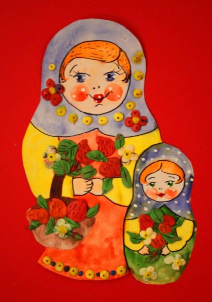 знакомство детей с русской избой