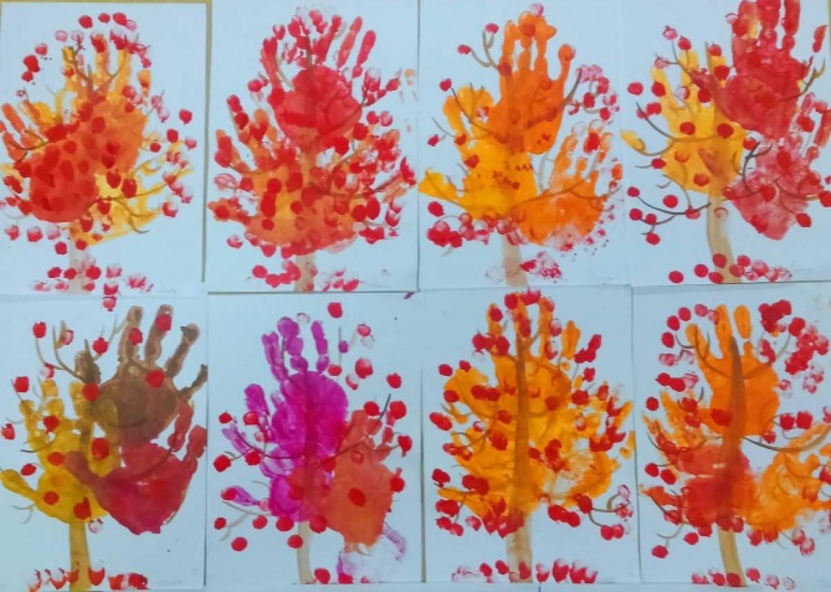 Консультация для воспитателей «Роль ладошковой и пальчиковой живописи в раскрытии творческих дарований детей»