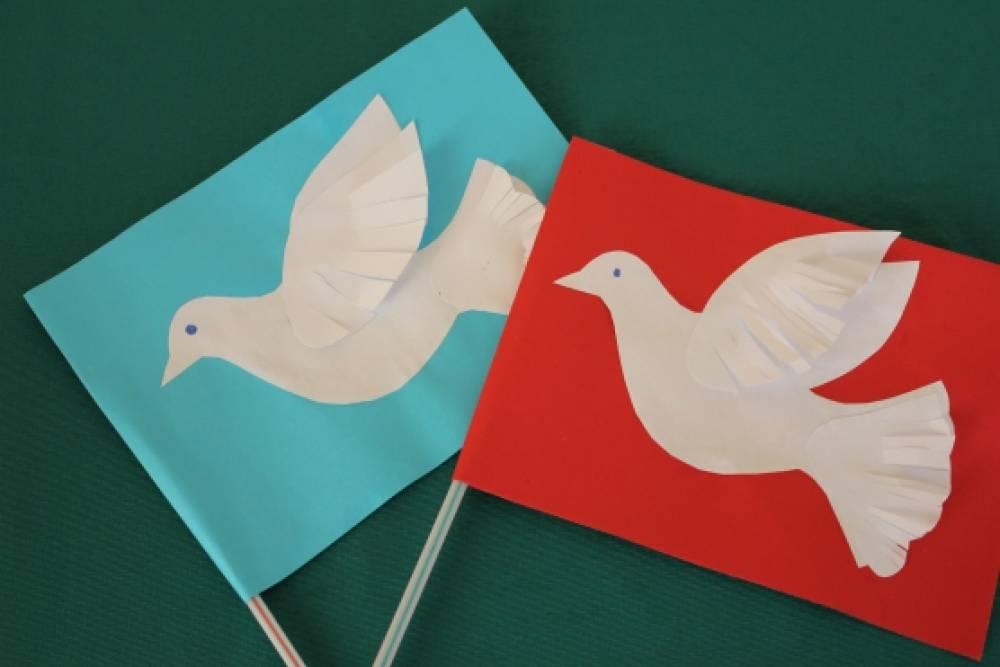 Рисовать открытки, голубь мира открытка своими руками
