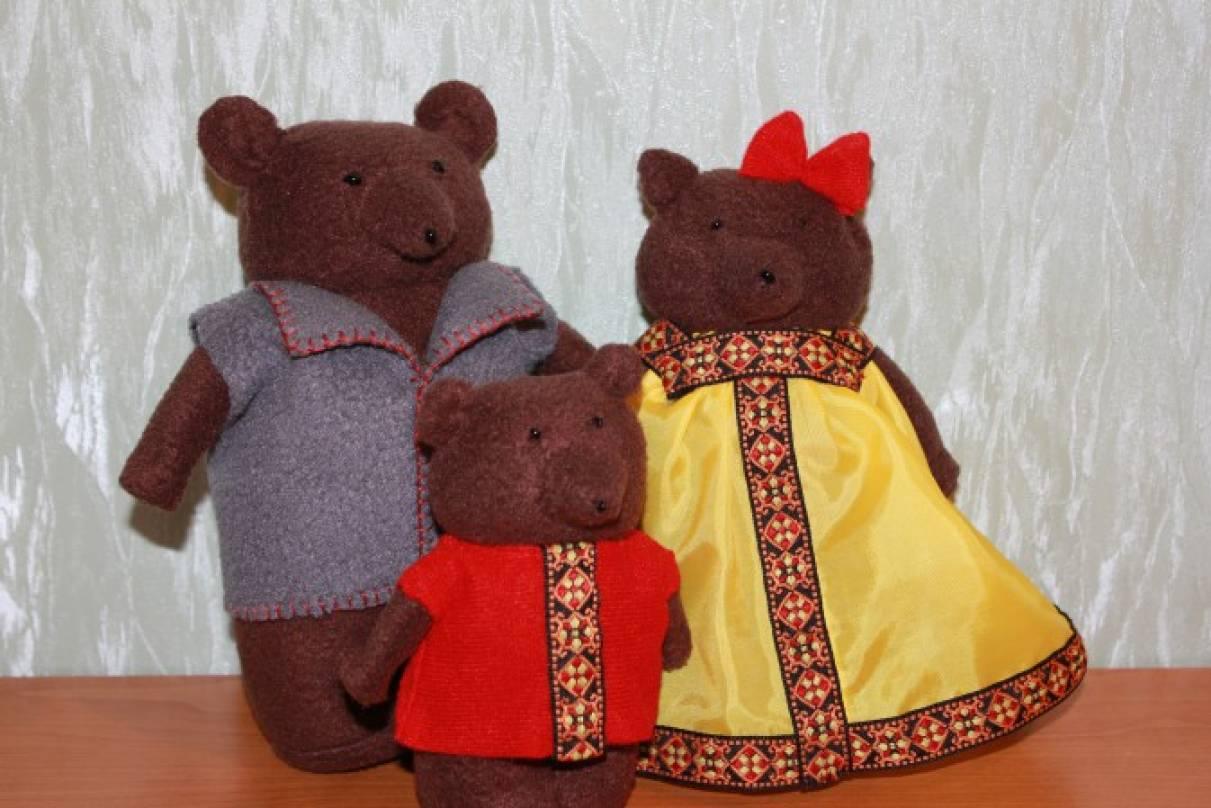 Куклы медведи своими руками