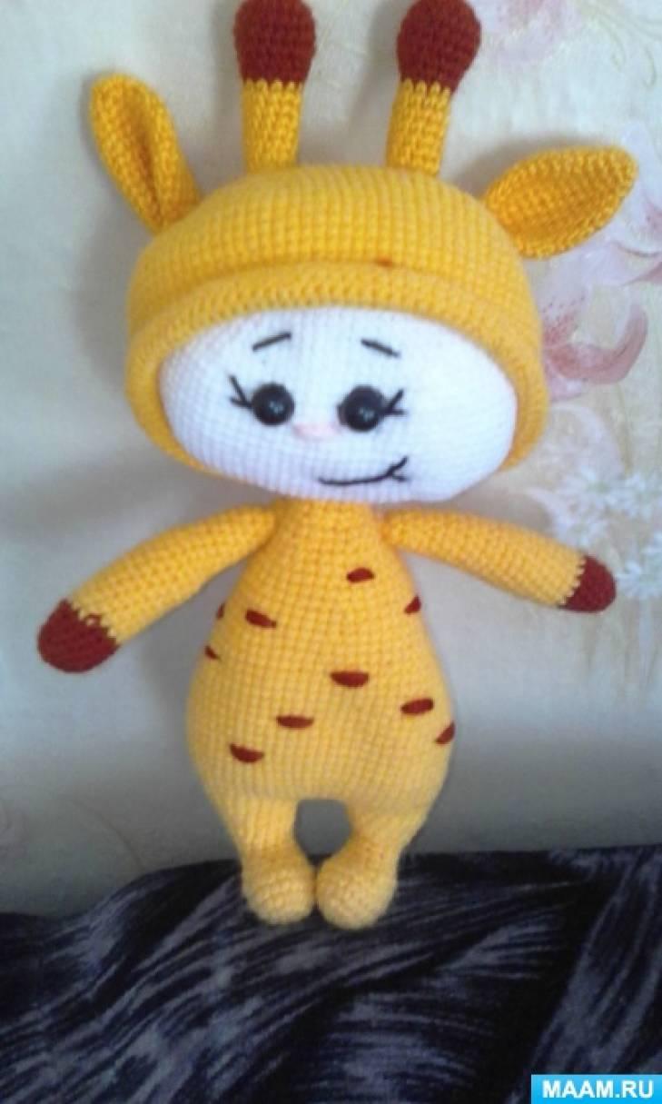 Изготовление вязаных игрушек «Кусочек счастья— это моё хобби»