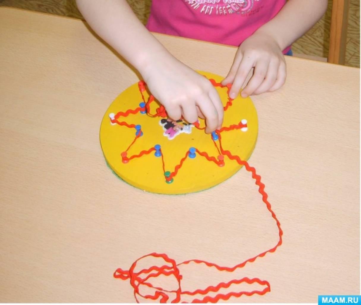 Игрушки своими руками для развития мелкой моторики у детей 3 4 лет