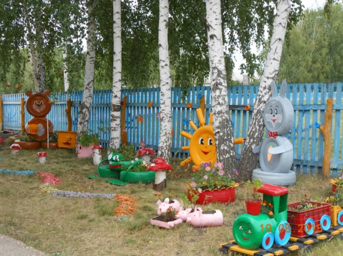 Тематические площадки в детском саду своими руками 21