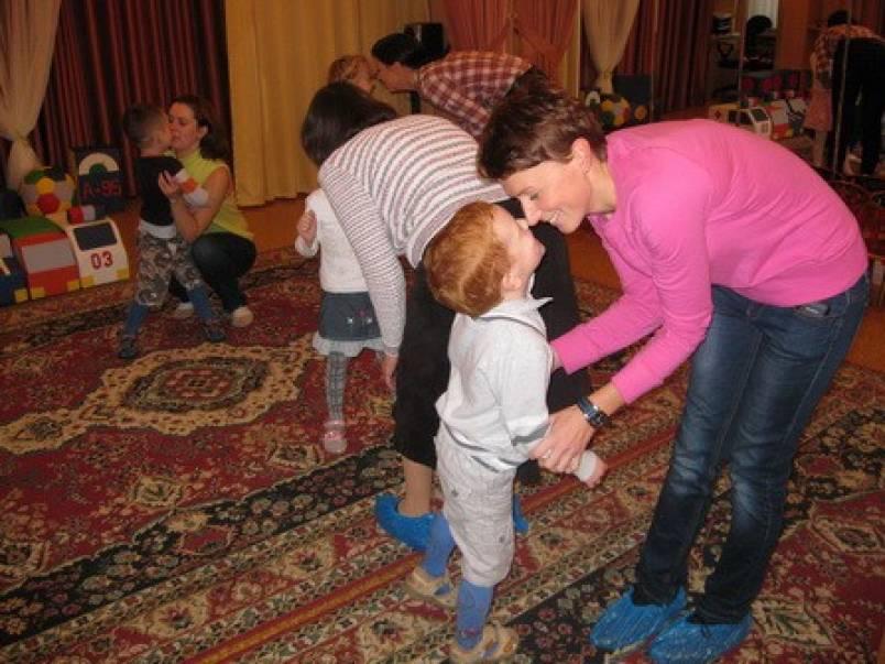 Конспект занятия в детско-родительском клубе «Мы вместе»