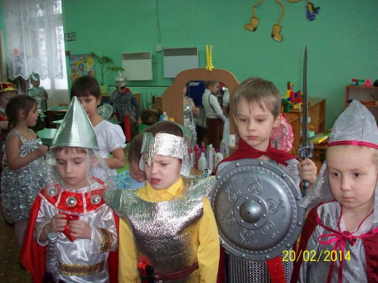 Проект «Русские богатыри»