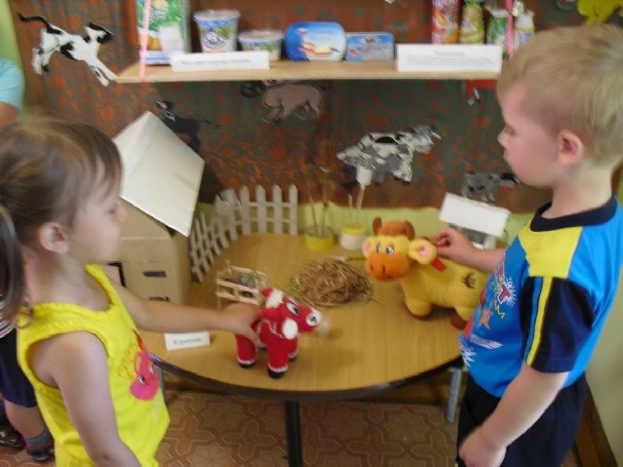 знакомство дошкольников с дикими животными