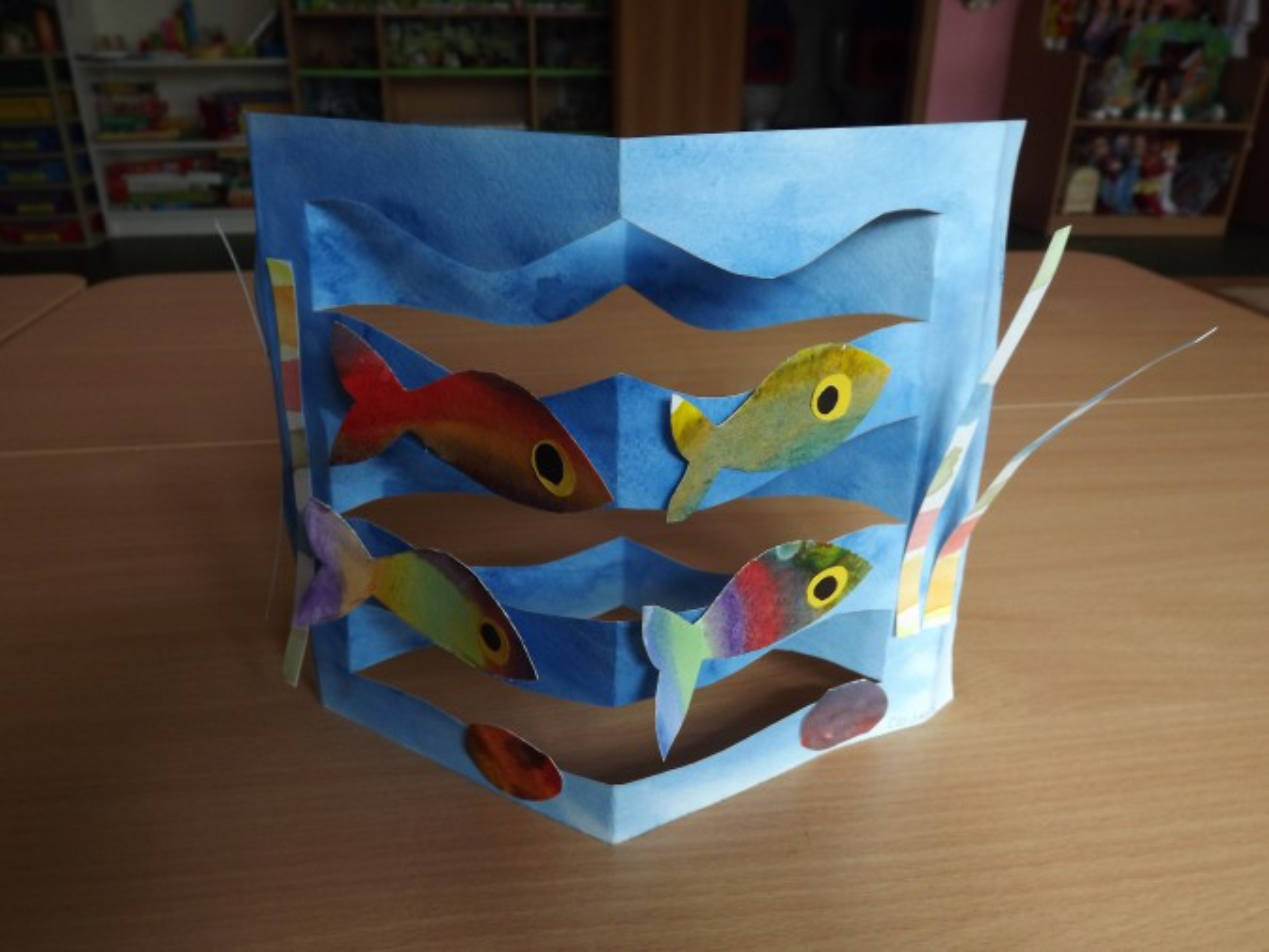 знакомство с рыбками во второй младшей группе